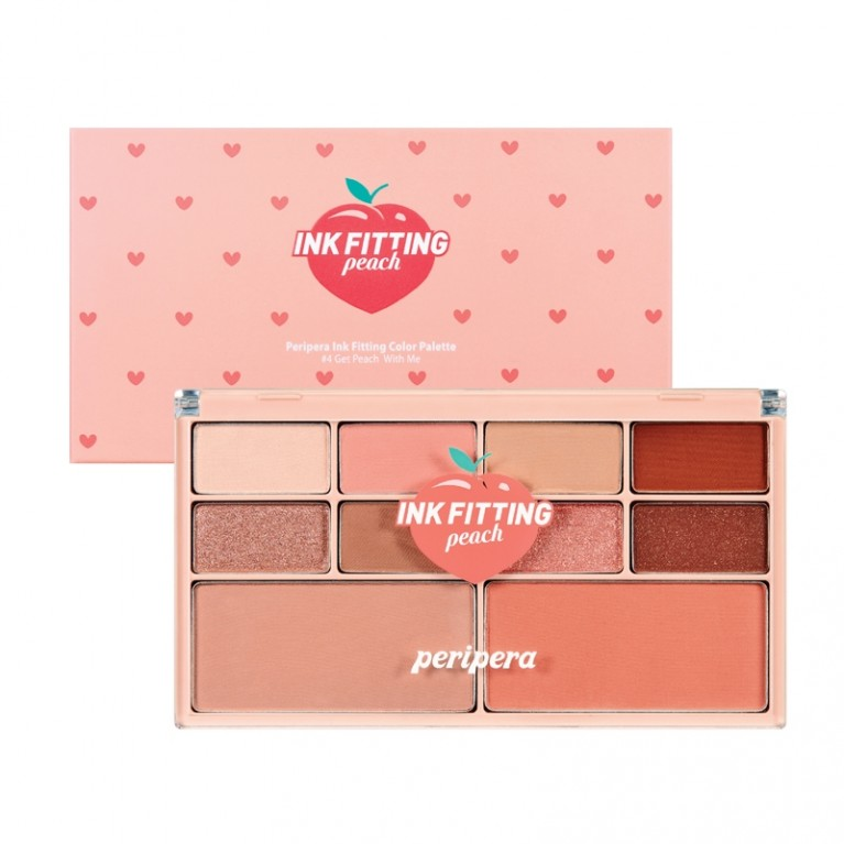 INK FITTING COLOR PALETTE-#4 GET PEACH WITH ME